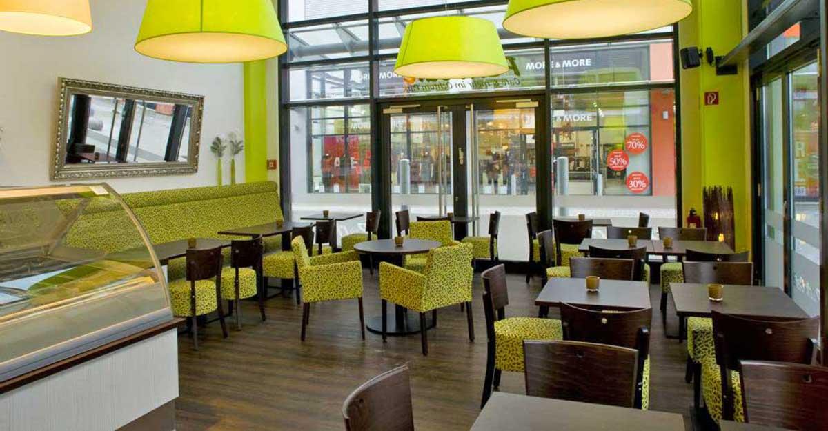 Caféeinrichtungen, Beispiele | Gastronomie-design